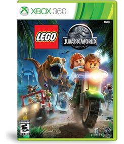 Lego Jurassic World Xbox 360 Mídia Física Novo Em Português