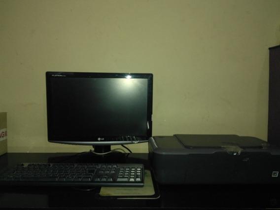 Pc , Monitor, Teclado E Impressora