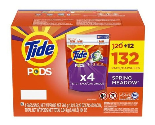 Detergente Liquido Tide Pods 1 Kilo X 3 - kg a $425