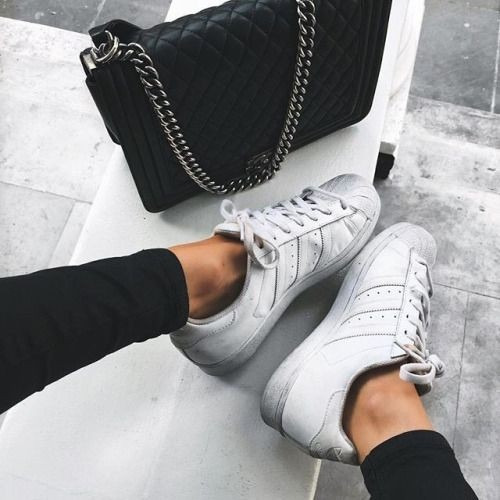 Zapatillas Superstar Gris Claro