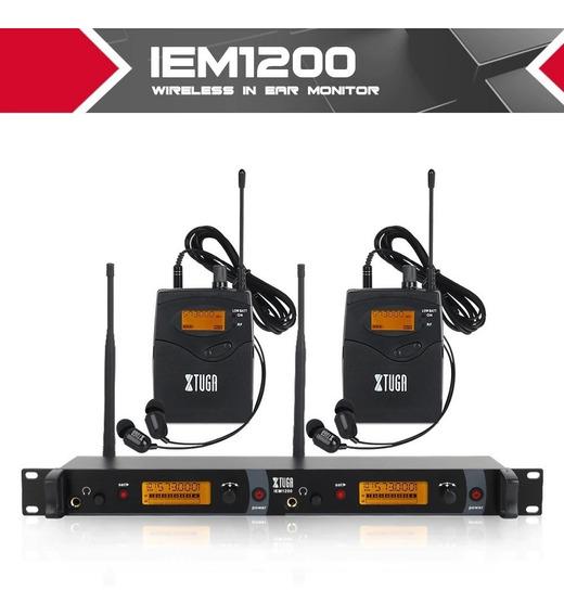 Retorno De Palco In Ear Duplo Xtuga Modelo: Iem-1200 Bivolt
