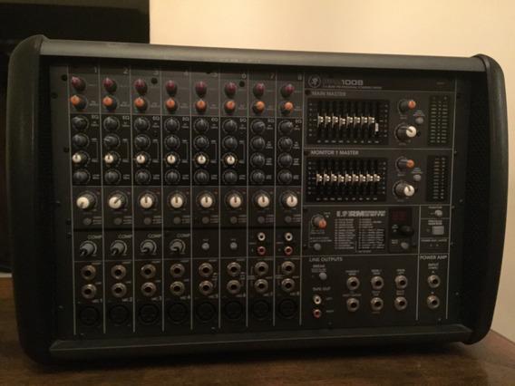 Mesa Mixer Mackie Amplificada Ppm 1008 8 Canais