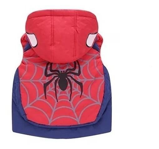 Roupa Infantil Menino Colete Homem Aranha