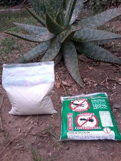 Tierra De Diatomea Insecticida / Fertilizante 2 Un X 250 Grs