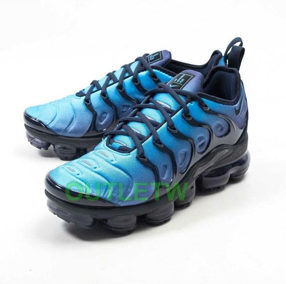 Tenis Nike Air Vapormaxplus Na Caixa Original Azul 41