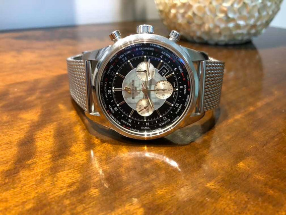 Breitling Transocean Chronograph Unitime 2012 Completo
