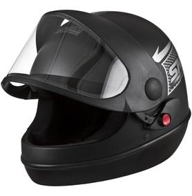 Capacete Sm Moto Automatico Pro Tork Motoboy +viseira Brinde