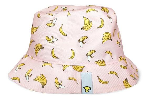 Chapéu Bucket Hat Rosa