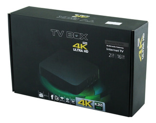 Receptor Tv Box 4k Streaming Internet Ultra Nuevos!!!