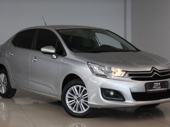 Citroën C4 Lounge Origine 1.6 Thp Flex, Pzy8427