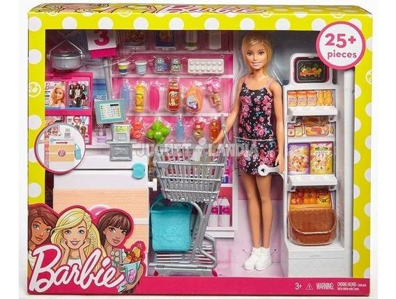 Barbie Supermercado De Luxo Frp01 - Mattel