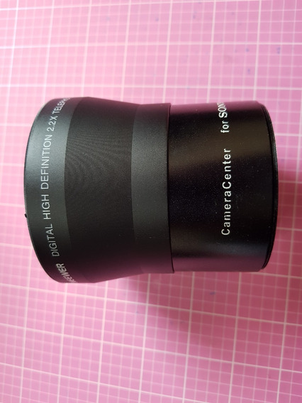 Telefoto 2.2× Para Câmeras Dlsr De 72mm - Sony/canon/nikon