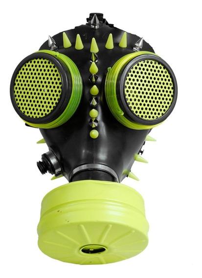 Mascara Antigas Neon Cgm18 Nuclear Waste Cyber Gotico Punk
