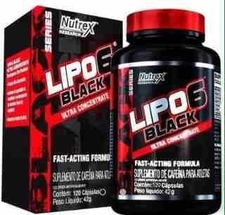 Lipo 6 Nutrex 60 Capsulas - Formula Brasilera