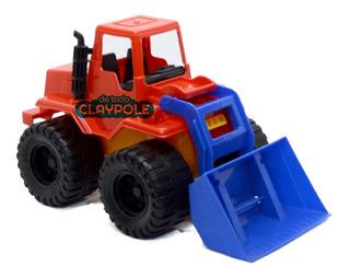 Excavadora Duravit 30 Cms Tractor Con Pala Movil