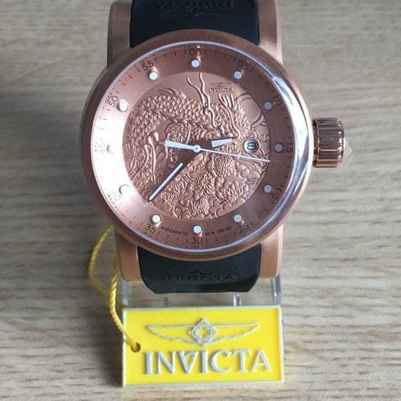 Relógio Invicta Yakuza S1 Original 18181 Homem Mulher Ouro