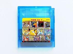 108 Em 1 Game Boy Color Gbc Pokémon , Com Bateria