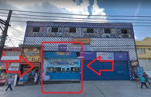 Imagem 1 de 13 de Salão Para Alugar, 260 M² Por R$ 9.000,00/mês - Cidade São Mateus - São Paulo/sp - Sl0066