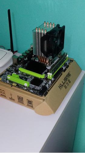 Kit Intel Placa Mãe, Processador, Memoria Ram