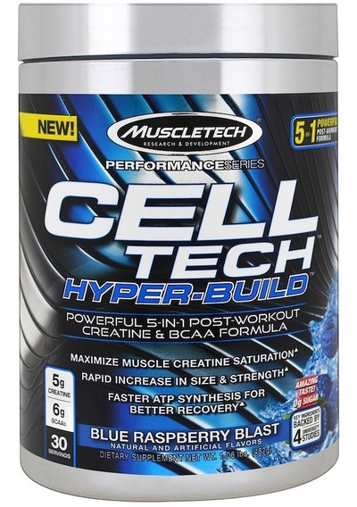 Creatina Cell Tech Hyperbuild Muscletech 30 Servicios