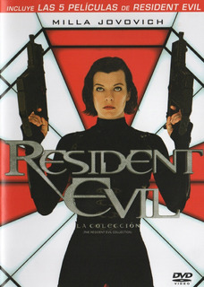 Resident Evil Coleccion 5 Pelicula Original Dvd Usado Vdgmrs