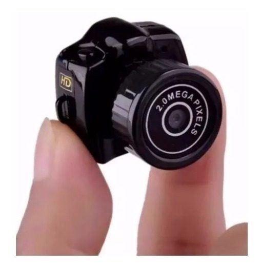 Câmera Espia Micro Mini Dv Filmadora Hd 720p Menor Do Mundo