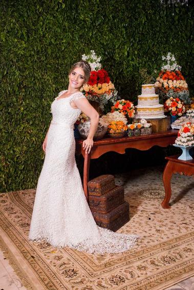 Vestido De Noiva Sereia Gripir
