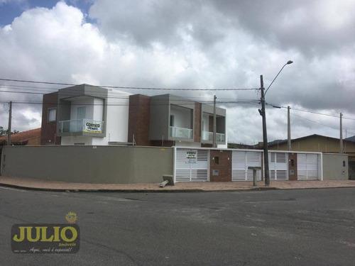 Imagem 1 de 4 de Entrada R$ 22.000 + Saldo Super Facilitado, Use Seu Fgts, Sobrado Residencial, Parque Balneário Itanhaém. - So0688
