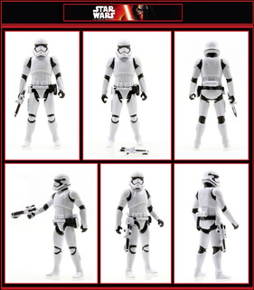 Star Wars Stormtrooper 7-pack Tfa Swargento!!