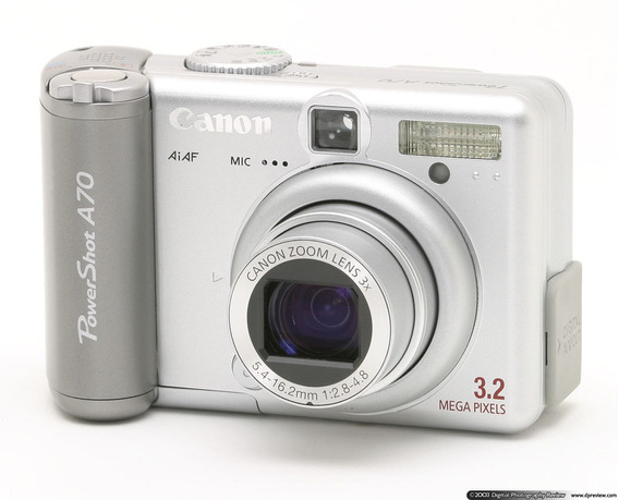 Camera Fotográfica Canon Powerdhot A70