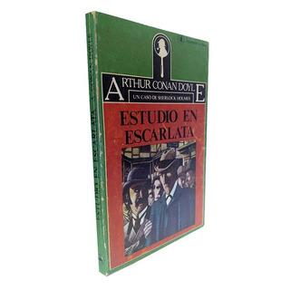Estudio En Escarlata 1ed 1981 - Arthur Conan Doyle