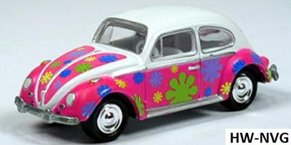 Johnny Lightning Luv Vw Fusca Beetle Rosa Pink Lacrado 1/64