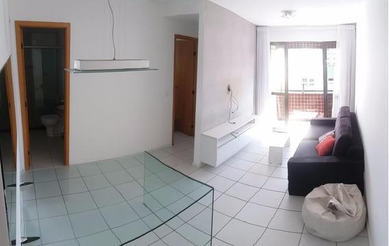 Apartamento Em Graças, Recife/pe De 60m² 1 Quartos Para Locação R$ 1.250,00/mes - Ap373554