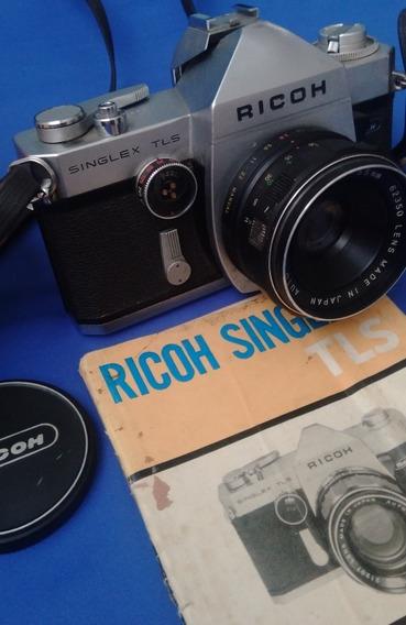 Câmera Fotográfica Ricoh Singlex Tls