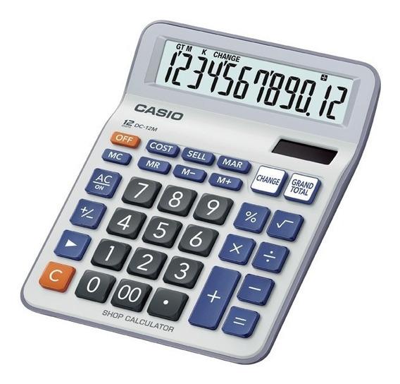 Casio Dc-12m Calculadora Escritorio Tienda Oficial