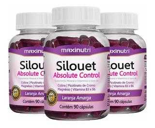 Silouet Absolute Control - 3x 90 Cápsulas - Maxinutri