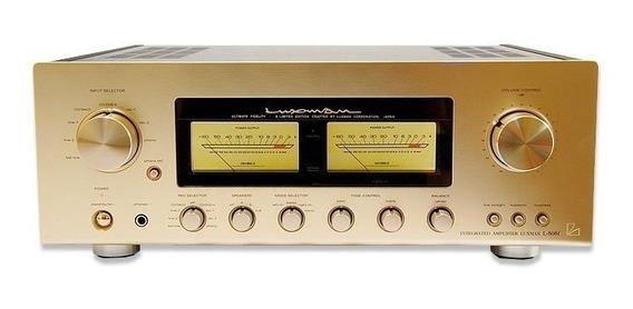 Luxman L 505-f Limited Edition Dourado Raridade Com Video
