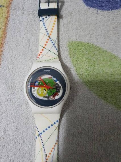 Relógio Swatch Olimpíadas Rio 2016 Original Raro