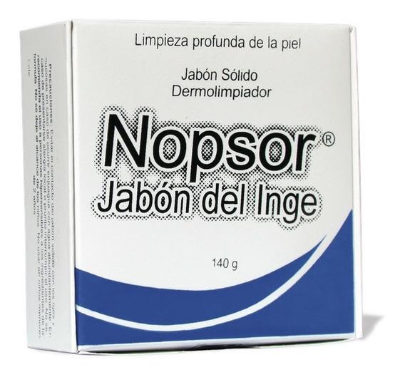 Shampoo Nopsor Muy Efectivo Jabón De Barra Psoriasis 2 Pzs