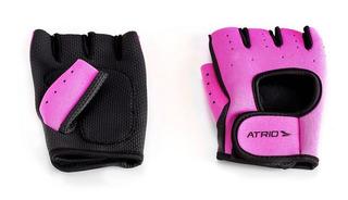 Luva Para Musculação Rosa Atrio - Es133