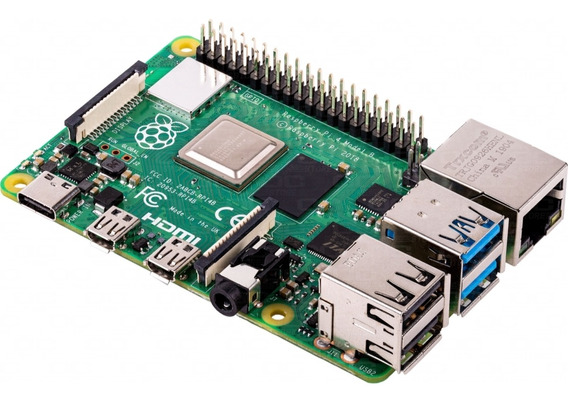 Raspberry Pi 4 4gb Original Made In Uk 4k Usb-c