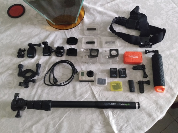 Câmera Gopro Hero 3 Silver Edition + Acessórios Originais
