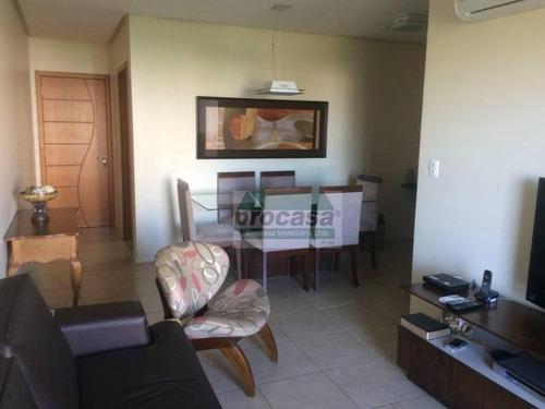 Imagem 1 de 5 de Apartamento Com 3 Dormitórios À Venda, 96 M² Por R$ 530.000,00 - Nossa Senhora Das Graças - Manaus/am - Ap1847