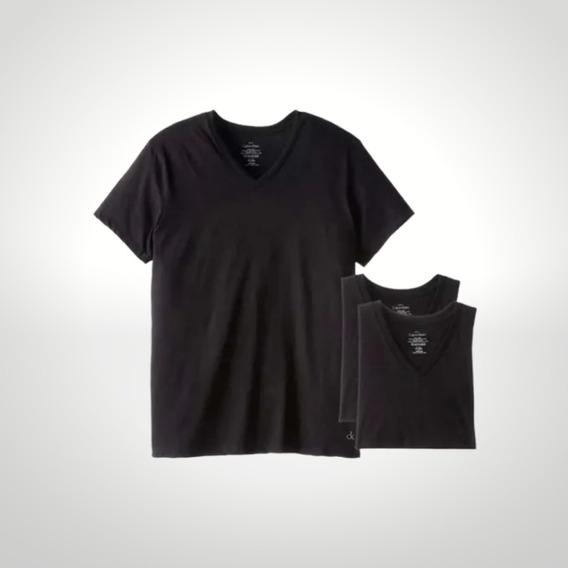 Camiseta Cuello V (pack X 3) Calvin Klein