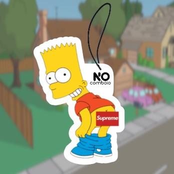 Aromatizante P/ Carro Little Trees Bart Simpsons Supreme