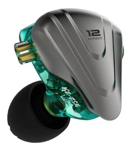 Audífonos In-ear KZ ZSX cian