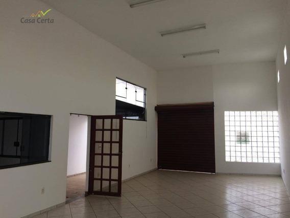 Barracão Para Alugar, 70 M² Por R$ 900,00/mês - Jardim Pansani - Mogi Guaçu/sp - Ba0041