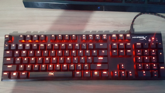 Teclado Mecanico Hyperx Alloy Fps Switch Cherry Mx Blue