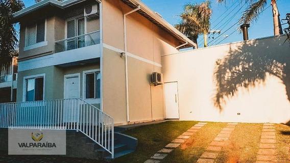 Sobrado Com 4 Dormitórios À Venda, 106 M² Por R$ 560.000 - Urbanova - São José Dos Campos/sp - So0066