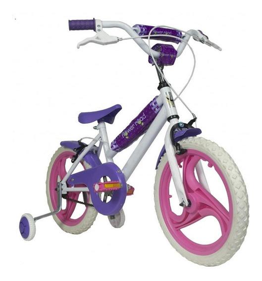 Bicicleta Unibike Rodado 16 Eva Mujer